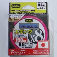 【インプレ】DUEL HARDCORE X8 ハードコアX8エギング使ってみた。
