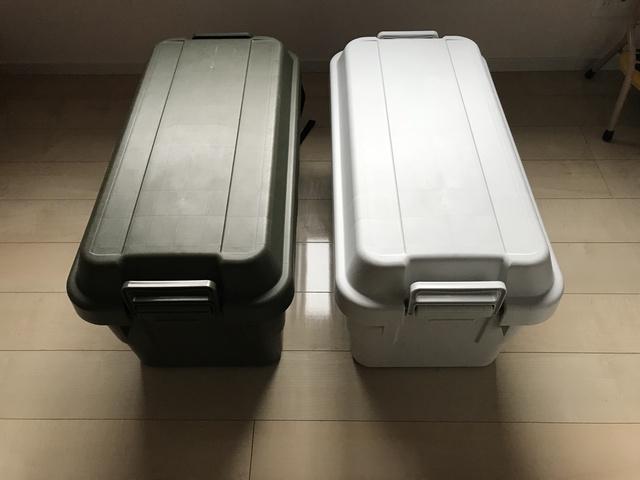 流行りのトランクカーゴ #オートバックス#トラスコ#無印良品でサイズは同じなのに