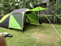 ソロTu用テント 試し張り