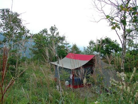 夏休みキャンプ*無印良品南乗鞍キャンプ場