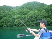 キャスティングトレーニング@支笏湖