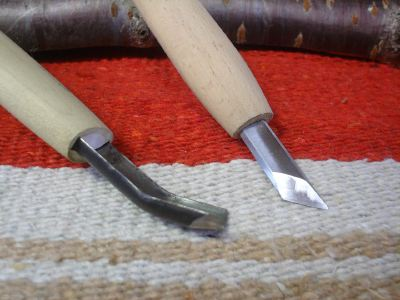 Japanese carving knife