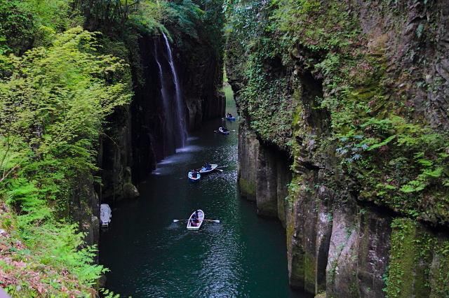 高千穂峡+原尻の滝