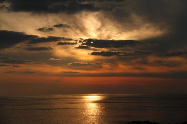 叶崎の海と空