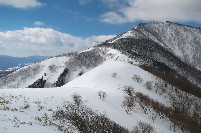 冬季下蒜山(メーチン尾根〜巨人ヶ平)