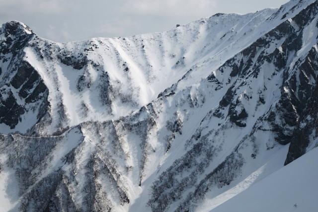 冬季終盤大山弥山