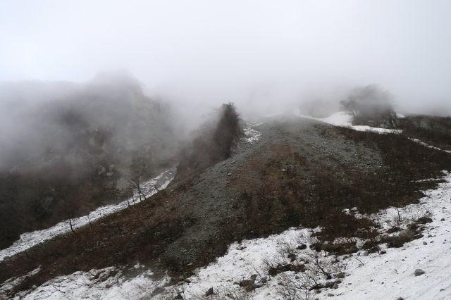 剣谷と三鈷峰