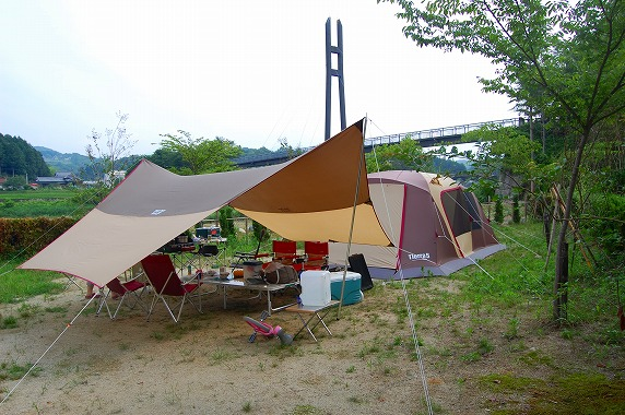 福岡 ローマン 渓谷 オート キャンプ 場