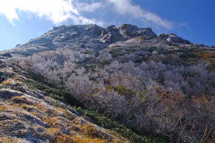 日光白根山(奥白根山) 菅沼登山口より日帰り登山 10月