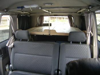 車中泊の達人はegaoの達人!:ヴォクシー用二段ベッド拡張計画No.2